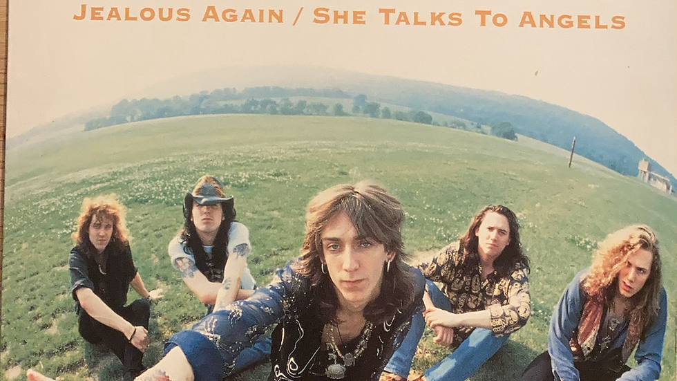 The Black Crowes 'Jealous Again/She Talks to Angels'