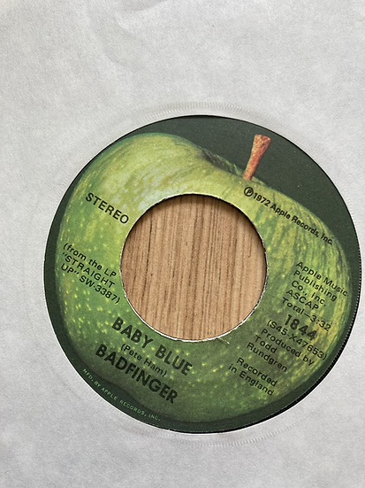 Badfinger 'Baby Blue' 7' single