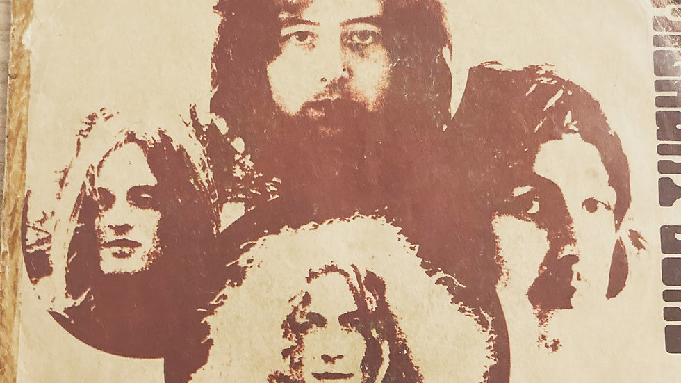 """Led Zeppelin 'Immigrant Song' 7"""" single"""