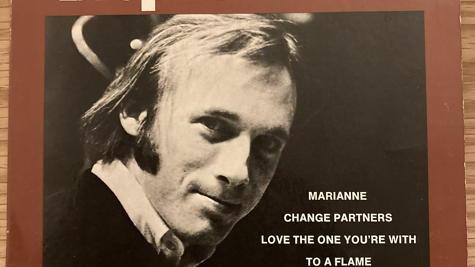 """Stephen Stills 'Love the One You're With' 7"""" EP Misprint"""