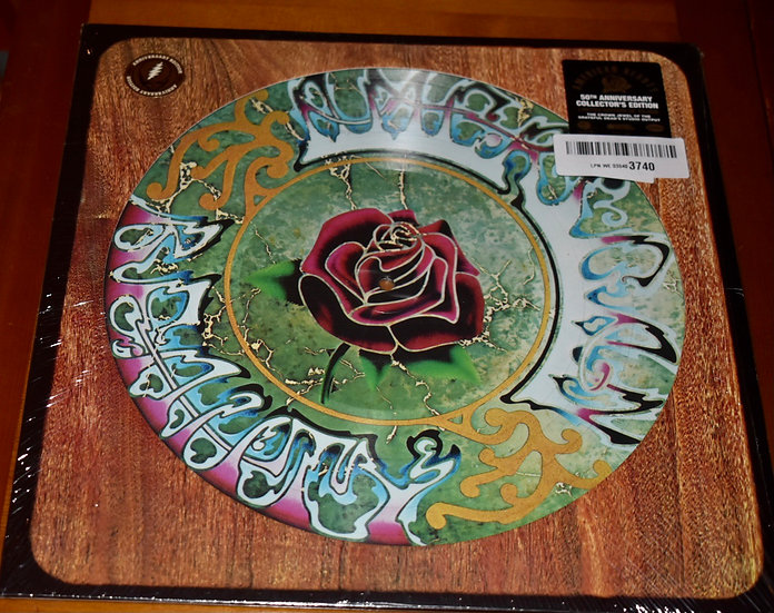 The Grateful Dead 'American Beauty' 50th anniversary picture disc.