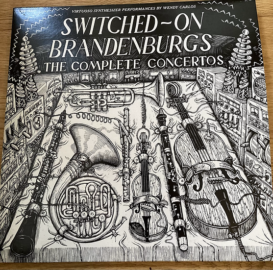 Wendy Carlos 'Switched On Brandenburgs'