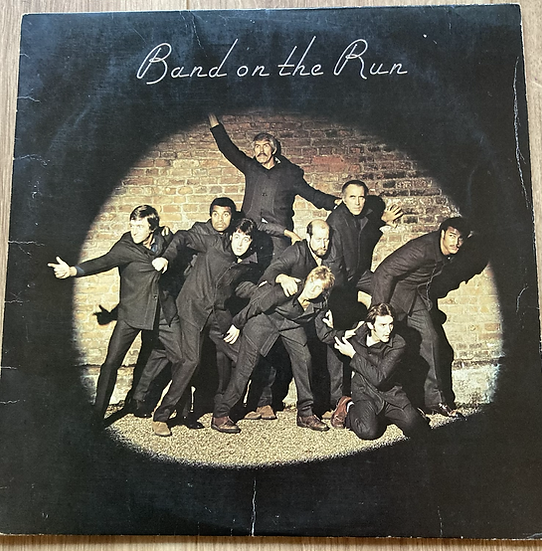 Paul McCartney and Wings 'Band on the run'