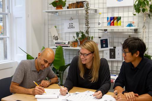 Sparkloop creative agency team working.jpg