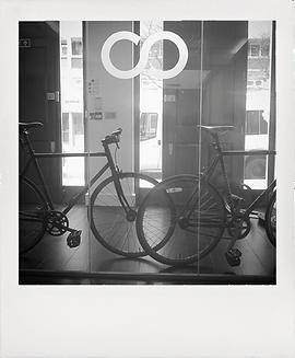 sparkloop creative agency office bikes