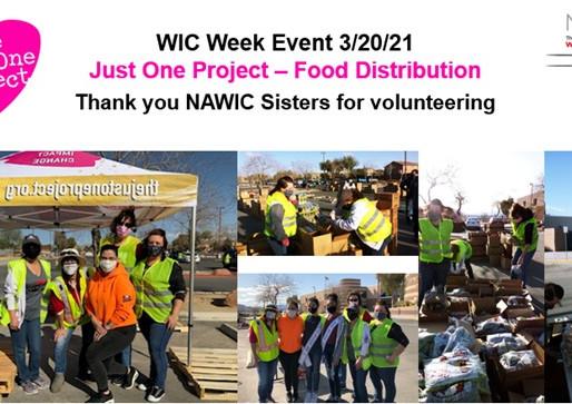 Food distribution event