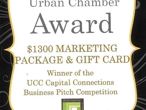 2018 Winner                                         Urban Chamber Pitch Contest
