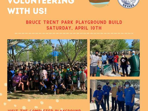 Playground Build at Bruce Trent Park