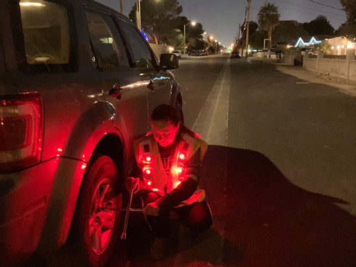 10,000 incidents occur during roadside repairs