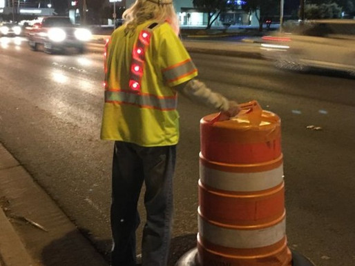 20,000 workers are injured in work zones