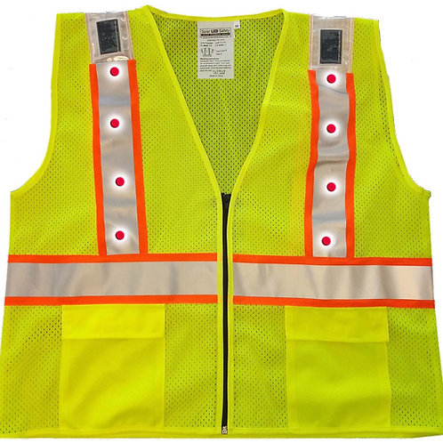 ANSI 2 Solar LED Safety Vest