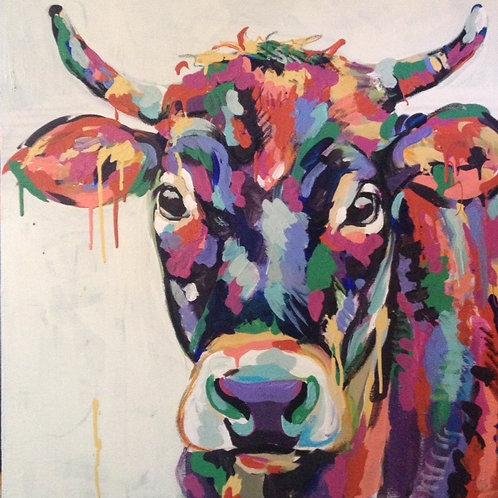 Fiesta Cow