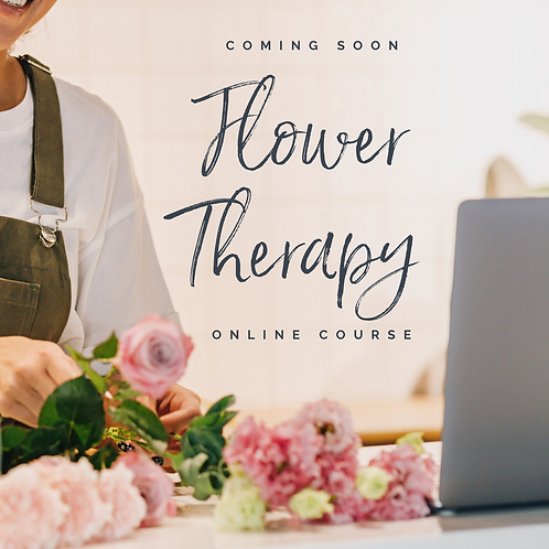 Flower Therapy - Online Course