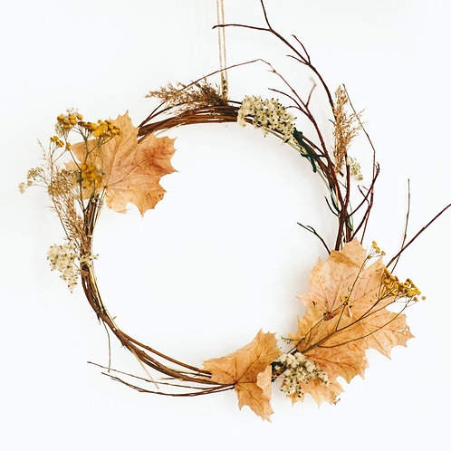 Autumn Wreath Workshop - Sunday 28th February