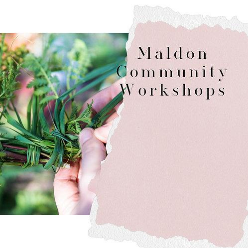 Maldon Community Workshops