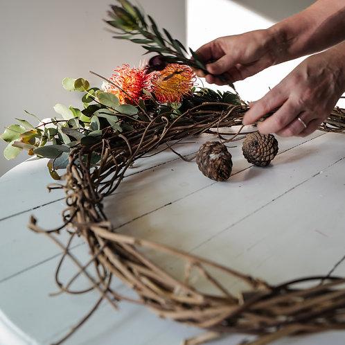 Wreath-Making Workshop - Saturday 19th December