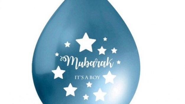 Globos Mubarak it's a boy (x10)