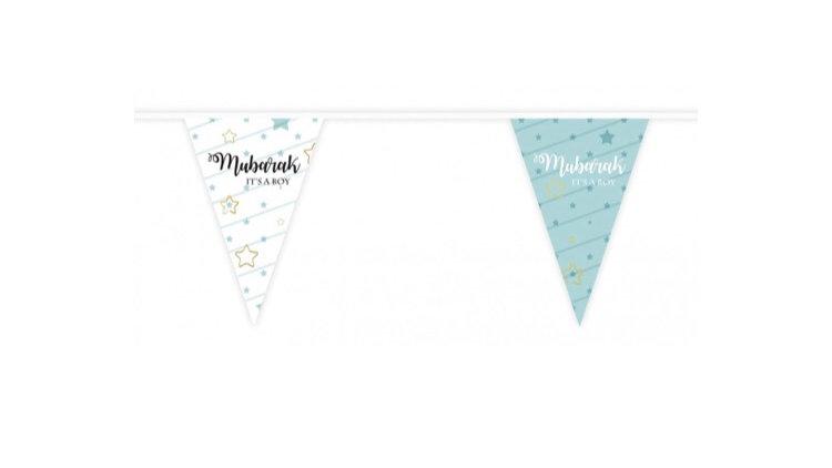 Banderines Mubarak it's a boy