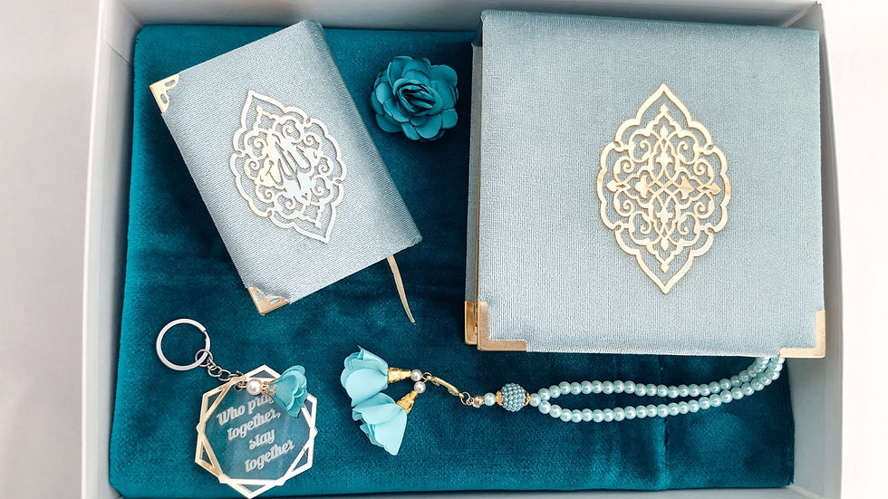 Pack mosaic turquesa