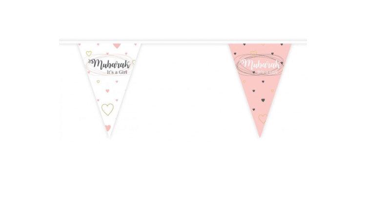 Banderines Mubarak it's a Girl
