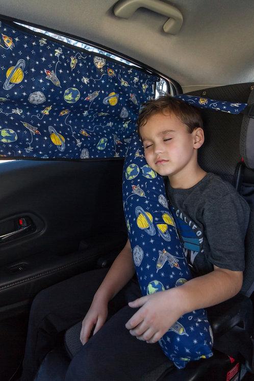 Cortina infantil para carro
