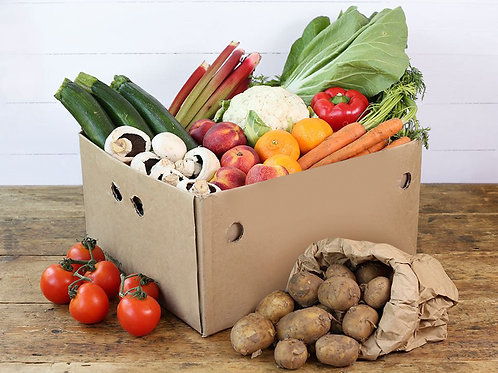 Large Fruit & Veg Box Organic