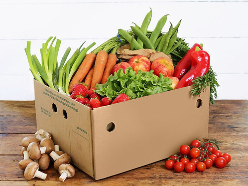 Medium Fruit and Veg Box Organic