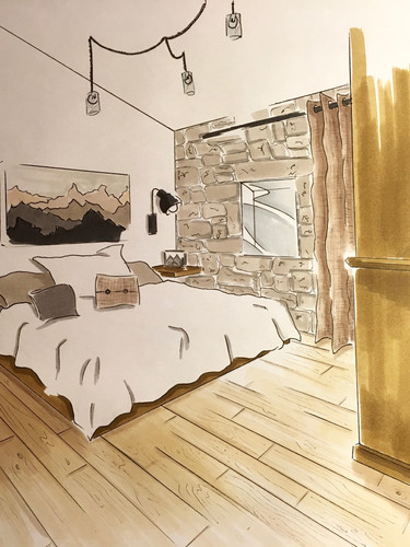 Sketch chambre