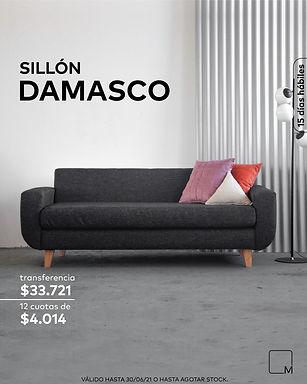 SILLONEO - Sillón Damasco