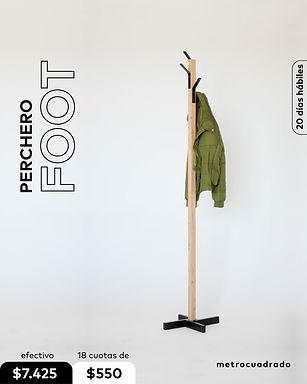 Perchero FOOT