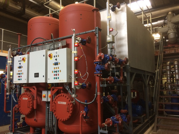 Derriford High Temperature Hot Water Pressurisation Plant Replacement