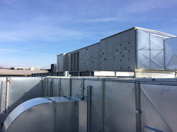 Ventilation System Installed at Becton Dickinson Plymouth