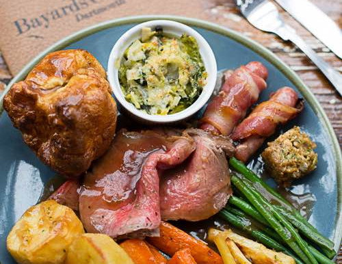Roasts are back on the menu this Sunday