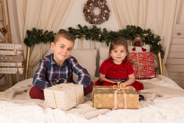 Séance Noël en famille