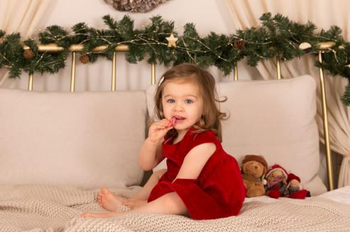 Séance photo de Noël