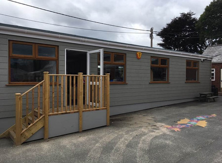 Library Block Refurbishment at St Peter's C of E Primary School, Budleigh Salterton
