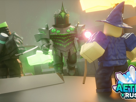 Roblox Aether Rush Codes (July 2021)
