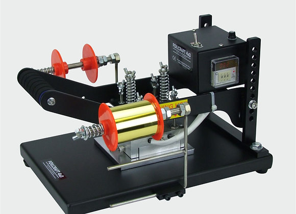 Hot Foil Printing Machine. Foilcraft 4x3 Black Edition
