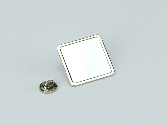 Square Lapel Badge (16x16mm)