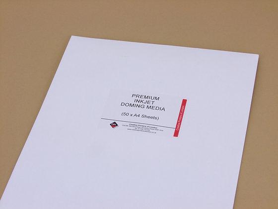 Inkjet Print Media x 50 x A4 Sheets