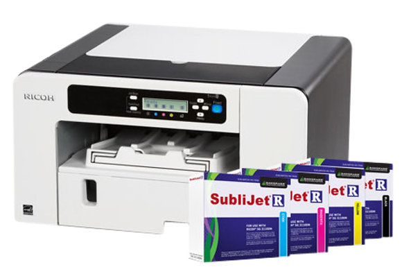 A4 Sublimation Inkjet Printer with Sublimation Inks