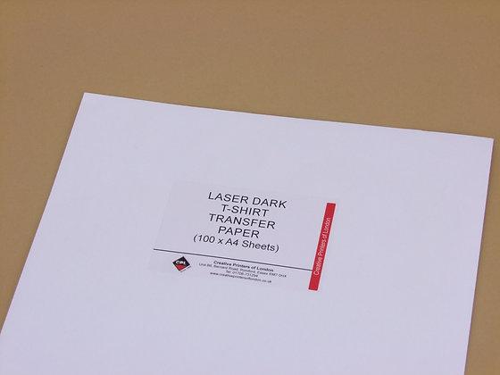 Laser Dark Transfer Paper