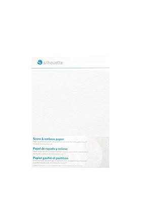 "Silhouette Curio Score & Emboss Paper - 5"" x 7"""