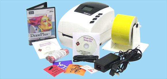 ZX-40 Ultra Ribbon Printing Machine