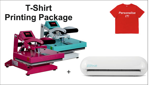 T-Shirt Printing Package - Portrait
