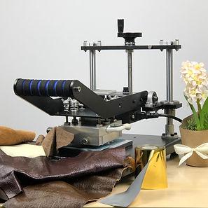 Leather-Embossing-Debossing-Machine