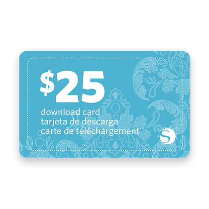 $25 Download Card