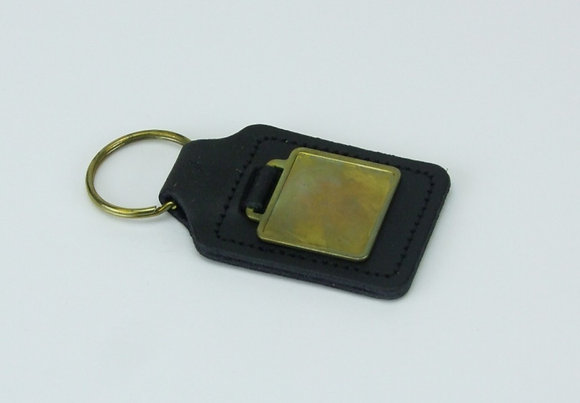 Real Leather Key Fob