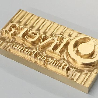 Brass Hot Foil Dies