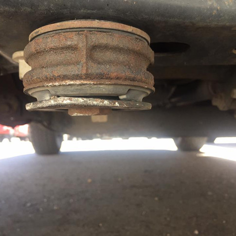 Tweaked my front differential mount a bit